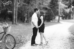 country engagement, props, picnic, red bike engagement, bike engagement, and sign engagement, sweet love, stay forever photography