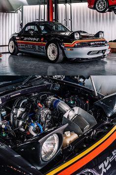 Tuner Cars, Jdm Cars, Miata Engine, Mazda Roadster, Engine Swap, Mazda Miata, Modified Cars, Beetle, Vintage Cars