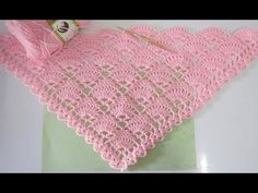 ถักผ้าคลุมไหล่ #ลายที่6 - YouTube Crochet Prayer Shawls, Crochet Shawls And Wraps, Crochet Scarves, Crochet Clothes, Crochet Stitches Patterns, Crochet Patterns For Beginners, Crochet Designs, Stitch Patterns, Crochet Shawl Diagram