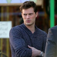 "Him. I loved Jamie Dornan in Once Upon a Time, and I have recently jumped on the ""bandwagon"" of Fifty Shades."