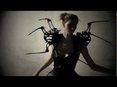 Exploration within the realms of robotic dresses; a spider dress gave birth. A cute little host creature created by fashiontech designer ANOUK WIPPRECHT and hacker & engineer DANIEL SCHATZMAYR - A prototype of a mechanic dress equipped with sensors indicators and controllers, created with the aim to give more power and 'psychological thrills' to...