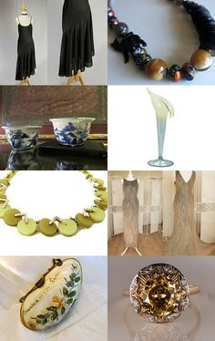Fantastic Finds  by nazanin on Etsy--Pinned with TreasuryPin.com #voguet #etsygifts #elegant #giftsforher #vintagegifts Vintage Vogue Fashion, Vintage Gifts, Gifts For Her, Invitations, Gift Ideas, Table Decorations, Elegant, Antiques, Etsy
