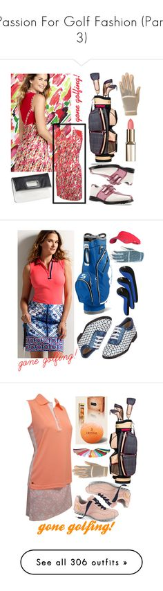 """""""Passion For Golf Fashion (Part 3)"""" by lorisgolfshoppe ❤ liked on Polyvore featuring Krystal, lorisgolfshoppe, Jofit, NIKE, adidas, Home Decorators Collection, Balmain, Marc Jacobs, MAC Cosmetics and New Balance"""