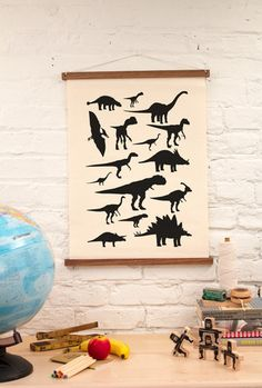 Wall Art - Dinosaurs