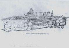 British-Battleship-Sketch-3