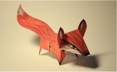 Glueless Paper Animals (JUST FOLD) by claudiu stefan, via Behance