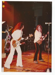 Me and Tommy. Onstage at Budokan in Tokyo. I love and miss you dearly brother...