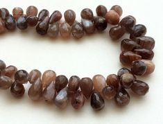 Chocolate Moonstone Beads Chocolate Moonstone by gemsforjewels
