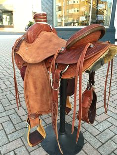 Modified Association ranch saddle by FX Saddle Company-SR