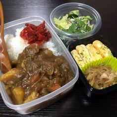 カレーライス/切り干し大根の煮物 2014/11/08