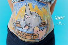 #bellypaint #dumbo #esniño #vientreembarazo #pregnant #belly #burbujas #bublee #elefante #elephant #blue #azul #itsaboy #niño #pinturacorporal