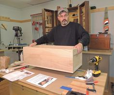 George Snyder Building The Paulownia Japanese Tool Box