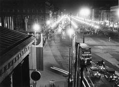 um 1936 Berlin - Unter den Linden. Blick vom Brandenburger Tor (Foto: Otto Croy, IfZ-Archiv). ☺