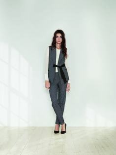 This tailored waistcoat and trouser combo is a key example of the new way to wear tailoring this spring.