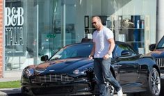 Jason Statham and Aston Martin.