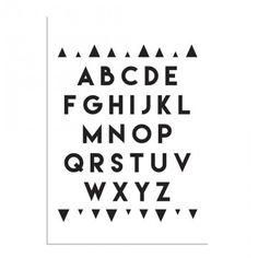 alfabet poster kinderkamer - Google zoeken
