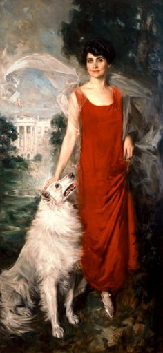 Grace Coolidge, wife of the 30th President of the United States Calvin Coolidge.