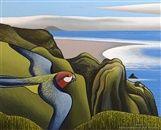 View Ahu Ahu Southward, Karekare Beach by Don Binney on artnet. Browse upcoming and past auction lots by Don Binney. New Zealand Art, Nz Art, Maori Art, Australian Art, Wildlife Art, Art Auction, Landscape Paintings, Landscapes, Beach Paintings