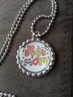 One of 3 available options for mother's day. I can make them for you or teachers can order them unassembled to make with their students. My Etsy Shop, Students, Pendants, Pendant Necklace, How To Make, Shopping, Accessories, Jewelry, Jewellery Making