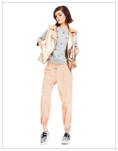 Key Spring Summer 2013 Fashion Looks For Women Spring Summer 2013 clothing vests and trousers salmon