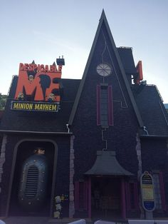 Despicable Me Minion Mayhem at Universal Studios Hollywood