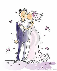 Illustration about Wedding congratulations card vector illustration, happy couple kissing, cartoon characters. Illustration of background, pink, holiday - 8103416 Cartoon Cartoon, Cartoon Styles, Cartoon Characters, Wedding Images, Wedding Cards, Wedding Congratulations Card, Wedding Illustration, Digital Stamps, Wedding Couples