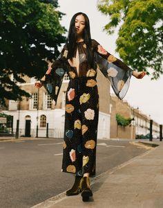 Jing Wen for Zara TRF F/W 2015