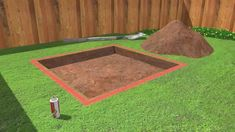 """How to Build a Sandbox. Nothing says """"childhood"""" like summertime and sandboxes. Not only is the sandbox a great place for your kids to learn the fine art of sandcastle building, truck driving, and sharing, it's also a gathering center for. Backyard Playground, Backyard For Kids, Backyard Games, Backyard Patio, Backyard Landscaping, Backyard Ideas, Garden Ideas, Build A Sandbox, Sandbox Ideas"""