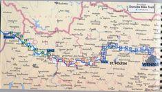Bike Danube Path. Passau to Bratislava