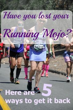 Have you lost your running mojo? Feeling tired and motivated? We'll take a look at possible explanations, plus 5 ways to help you get your running mojo back.