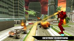 Flying Robot Bike Simulator- screenshot | mobile game | Pinterest | Android apps and Android