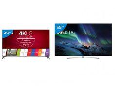 """Smart TV OLED 55"""" LG 4K/Ultra HD OLED55B7P - Conversor Digital Wi-Fi 4 HDMI 3 USB"""