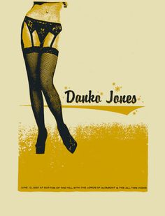 GigPosters.com - Danko Jones - Lords Of Altamont - All-time Highs
