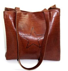 d42a6c21ec7a Colonel Littleton Leather Tote Made in USA TN Excellent Well Made Bag