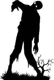 """Résultat de recherche d'images pour """"silhouette noir et blanc zombie"""""""