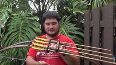How to Make a Centershot Double PVC Bow With Built In Quiver Part 4, via YouTube.