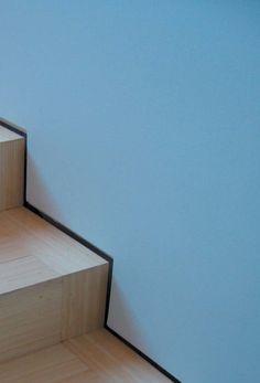 wood stair detail