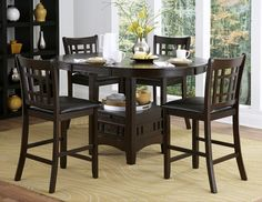 Junipero 5pc Counter-height Dinette Set, $499.