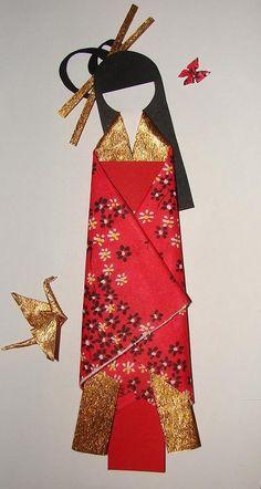 Japanese Paper Doll by ~DemetTavsan