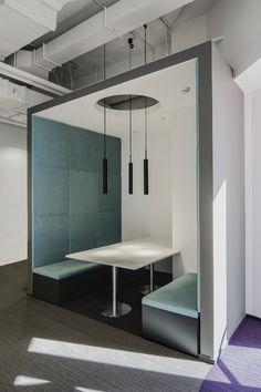 Офис Orange Business Services в башне «Меркурий». Реализация, 2016 © T+T Architects