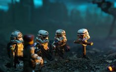 Star Wars Lego Soldiers Wallpaper For Macbook Air