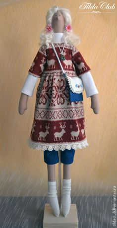 Куклы Тильды ручной работы. Ярмарка Мастеров - ручная работа Кукла Тильда: Гретта. Handmade.