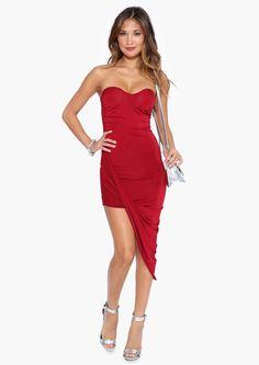 Ciara Midi Dress in Wine | Necessary Clothing