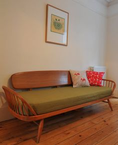 ercol daybed but in walnut to match the rest of my inherited ercol walnut collection please!