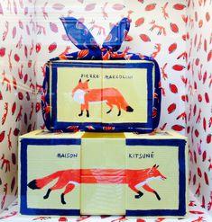 Pretty Packaging - Pierre Marcolini & Maison Kitsuné - Chocolate Box