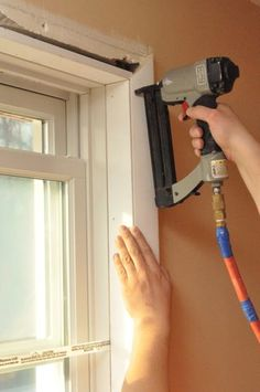 How to Install a Window Yourself, DIY instructions with step-by-step pictures showing how to remove the old window and install the new. Save money by doing it yourself! #window installation, #how to install a window, #DIY windows