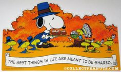 Peanuts Thanksgiving & Fall Press-Out Designs | CollectPeanuts.com