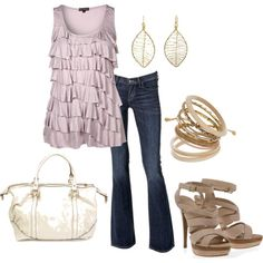 <3 for date night or girl's night via polyvore.com