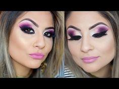 Esfumado roxo na diagonal - Gabih Machado ♥ - YouTube