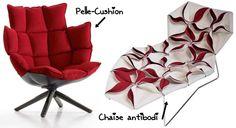 Quero uma cadeira cheia de almofadinhas também :P